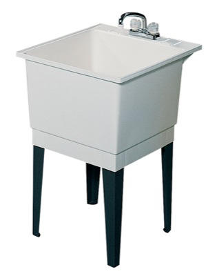 Swanstone PT-1 Laundry Tub - White