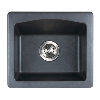 Swanstone Qzbs 1816 170 Granite Bar Sink Espresso