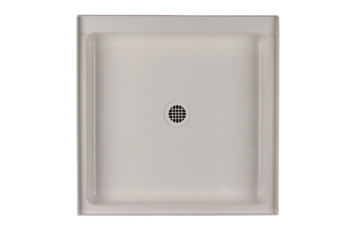 Swanstone R-3232-010 Single Threshold Shower Floor - White