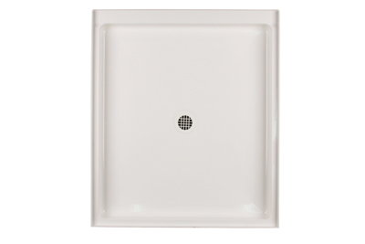 Swanstone R-4236-018 Single Threshold Shower Floor - Bisque (Pictured in White)