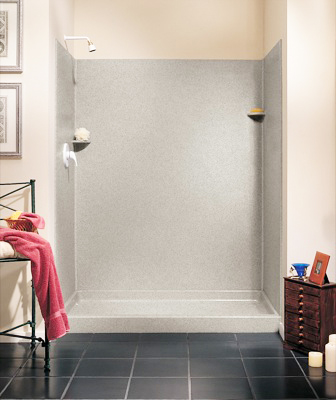 Swanstone SK-346072-018 Shower Wall Kit - Bisque