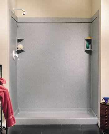 Swanstone SS-4896-1-018 Shower Wall Panels - Bisque
