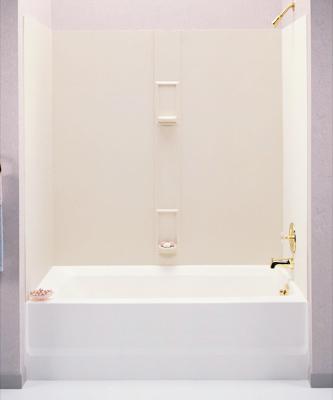Swanstone SS-60-5-010 Tub Wall Kit - White - FaucetDepot.com