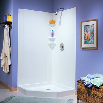 swanstone sw-neo-dtf-010 shower wall kit - white