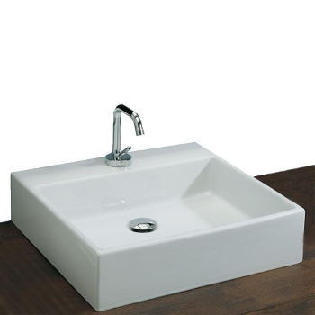 St. Thomas Creations 1350.001 Miro Box 50 Vessel Sink - White