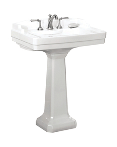 St. Thomas Creations 5123.082.01 Neo - Venetian Petite Lavatory, Sink Only - White