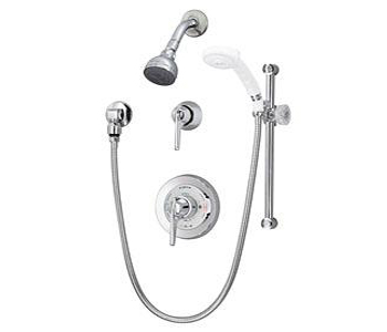 Symmons 96-500-B30LVX Temptrol Shower System - Chrome