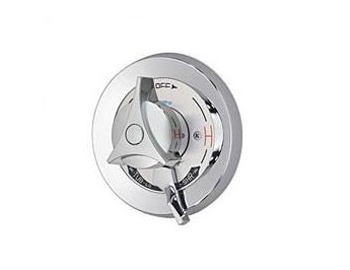 Symmons S-86-2-X Temptrol Pressure-Balancing Tub and Shower Mixing Valve - Chrome