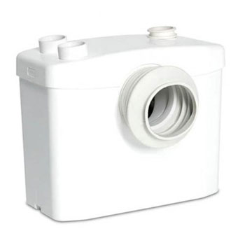 Saniflo 017 Sanitop Macerating Pump - White