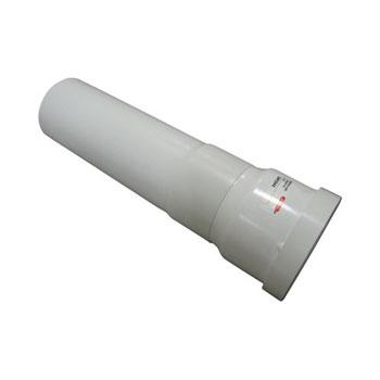 saniflo 030 extension pipe between toilet and macerator white