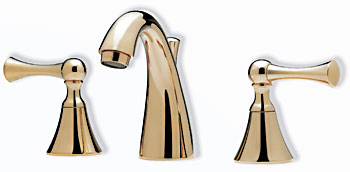 Santec 3120VL75 Estate Series Villa Faucet - Satin Nickel (Pictured in PVD Brass)