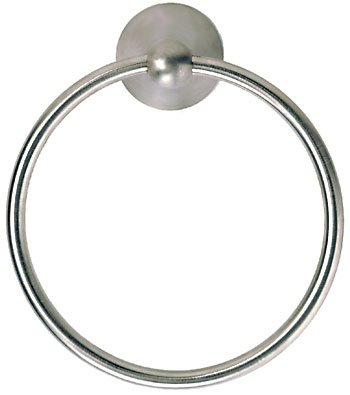 Santec 3164VU23 Estate Series Villa Towel Ring - PVD Brass (Pictured in Satin Nickel)