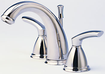 Santec 4120BL23 Estate Series Britani Faucet - PVD Brass (Pictured in Polished Chrome)