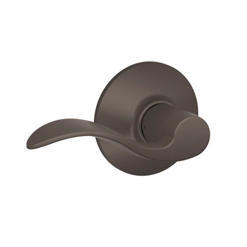 F10 ACC 613 Schlage Accent Hall and Closet Lever - Oil Rubbed Bronze