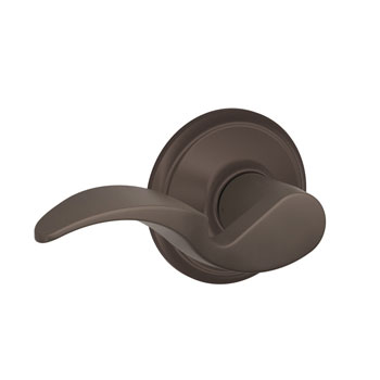 Schlage F10 AVA 613 Avanti Hall and Closet Lever - Oil Rubbed Bronze