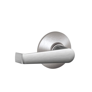 Schlage F10 ELA 626 Elan Hall and Closet Lever - Satin Chrome