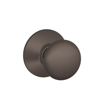 Schlage F10 PLY 613 Plymouth Hall and Closet Knob - Oil Rubbed Bronze