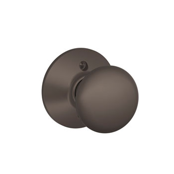 Schlage F170 PLY 613 Plymouth Decorative Trim Knob - Oil Rubbed Bronze