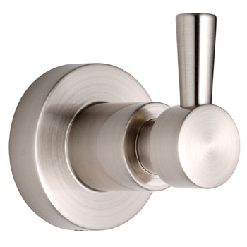 Belle Foret RH600SN Single Robe Hook - Satin Nickel