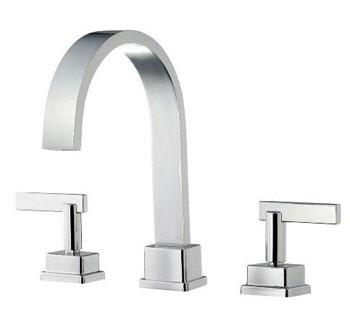 Belle Foret BFRT400CP Roman Tub Faucet - Chrome