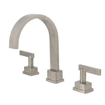 Belle Foret BFRT400SN Roman Tub Faucet - Satin Nickel