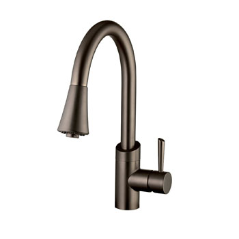 Belle Foret BF406ORB Pull Out Kitchen Faucet - Oil Rubbed Bronze