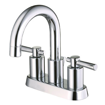 Belle Foret BFL650CP Two Handle Minispread Lavatory Faucet - Chrome