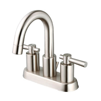 Belle Foret BFL650SN Two Handle Minispread Lavatory Faucet - Satin Nickel