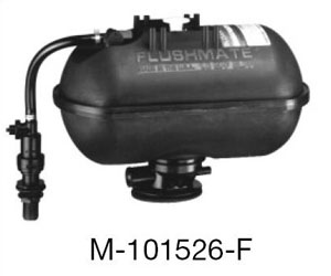 Sloan M-101526-FA Flushmate Inner Tank Assembly for 501-B Series Two-Piece Close Coupled American Standard Toilets