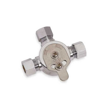 Sloan MIX-60-A Mechanical Mixing Valve (3326009) - Chrome