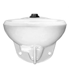 Sloan ST-2053-A-1.6 Vitreous China Elongated Water Closet with Option for Bedpan Lugs 1.6 GPF - White