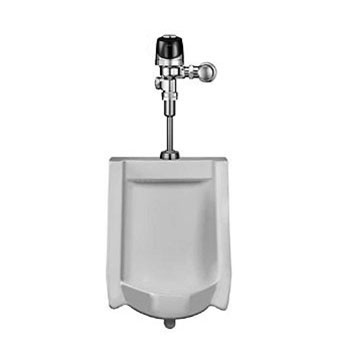 Sloan WEUS-1000.1401 OptimaPlus Battery Powered Wall Mounted Urinal - White