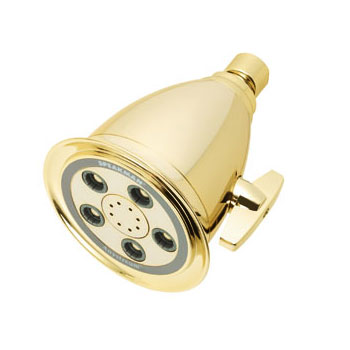 Speakman S-2005-HB-PB Anystream Hotel 50 Spray Showerhead - Polished Brass