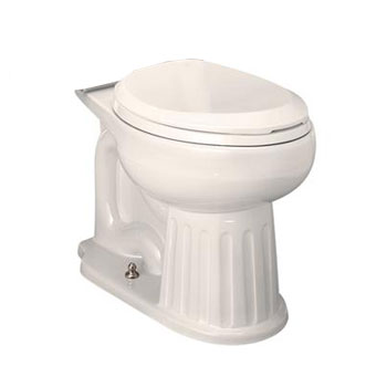 St. Thomas Creations 6119.218.06 Mayfair Two Piece Chair Height Round Front Toilet Bowl Only - Balsa