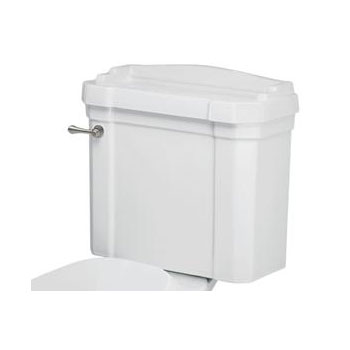 St Thomas Creations 6123.028.01 Neo-Venetian Two Piece Toilet Tank Only - White