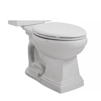 St Thomas Creations 6401.033.01 Presley Two Piece Chair Height Elongated Toilet Bowl Only - White
