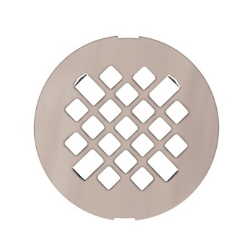 Swanstone DC-MD Fit-Flo Metal Drain Cover - Stainless Steel