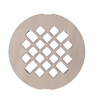 Swanstone DC-MD Fit-Flo Metal Drain Cover - White (Pictured in Stainless Steel)