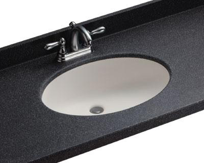 Swanstone UL-1913 Chesapeake Bathroom Sink Undermount - White