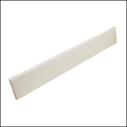 Swanstone VT21-3SS Contour Side Splash Panel - Bermuda Sand (Pictured in White)