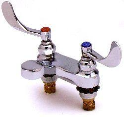 T&S Brass B-0894 Medical Lavatory Faucet - Chrome