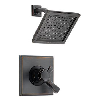 Delta T17251-RB Dryden Monitor(R) Pressure Balance Shower Trim with Volume Control - Venetian Bronze