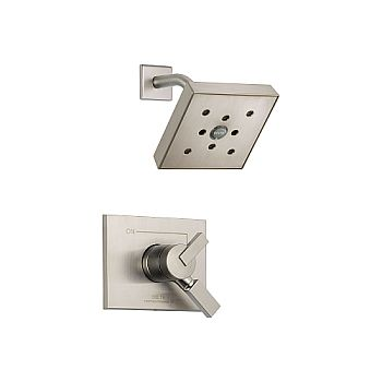 Delta T17253-SSH2O Vero Monitor 17 Series Shower Trim - Brilliance Stainless