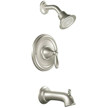 Moen T2153BN Brantford Posi-Temp(R) Single Handle Tub/Shower Trim - Brushed Nickel