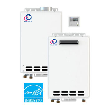 Takagi T-D2-IN-NG (Indoor) Natural Gas Tankless Water Heater
