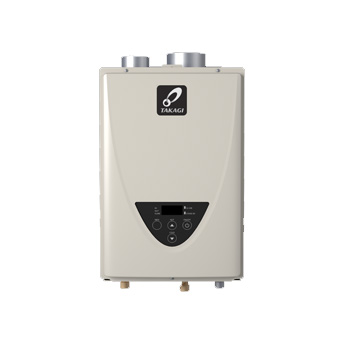 Takagi TK-510U-I Series 200 199,000 BTU Natural Gas/Liquid Propane Indoor Non-Condensing Ultra-Low NOx Tankless Water Heater