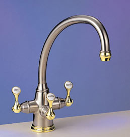 Franke Triflow : TFT460-Franke-Triflow-Faucets-Traditional-Kitchen-Faucet-wSide-Spray ...
