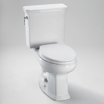 Toto CST424SFG-01 Promenade Two Piece Elongated 1.6 GPF Toilet - Cotton White