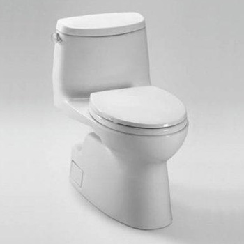 TOTO MS614114CEFG#01 Carlyle II One Piece High-Efficiency Toilet - Cotton White