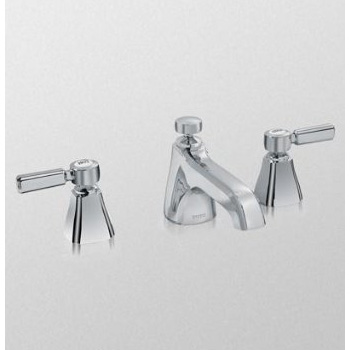 Toto Tl970dd1lq Bn 1 5 Gpm Guinevere Lever Handle Widespread Lavatory Faucet Brushed Nickel